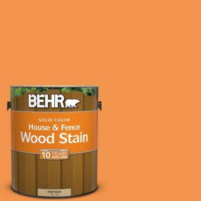 1 gal. #P230-6 Toucan Solid Color House and Fence Exterior Wood Stain