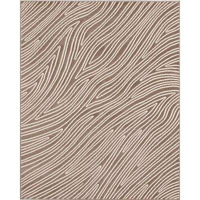 Eddy Grey 7 ft. 10 in. x 10 ft. Area Rug