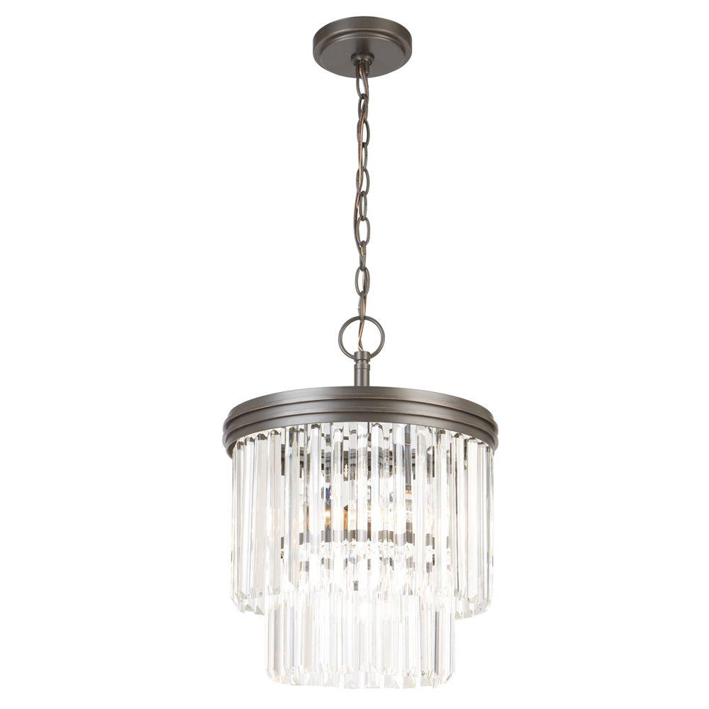 Hampton bay 2 light oil rubbed bronze crystal 2 tier chandelier hampton bay 2 light oil rubbed bronze crystal 2 tier chandelier audiocablefo