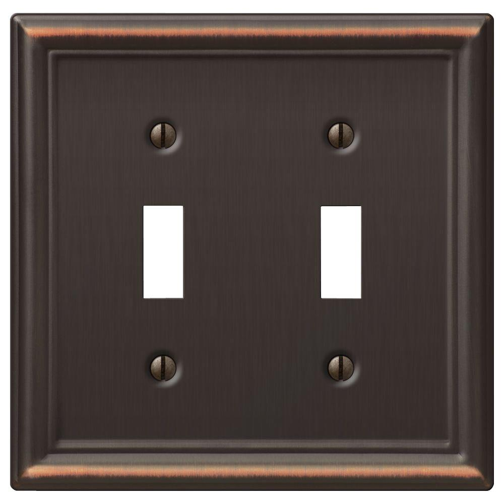 Colored Electrical Wall Plates New Bronze  Switch Plates  Wall Plates  The Home Depot Decorating Inspiration