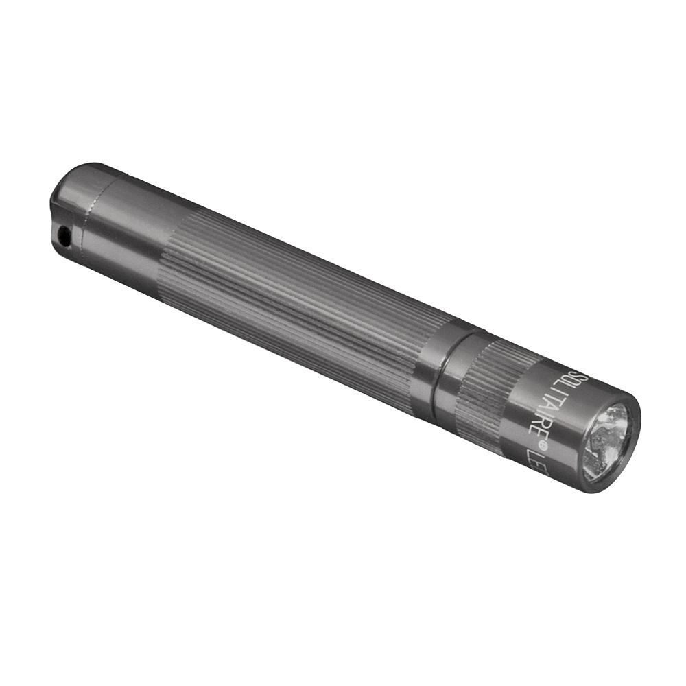 maglite led solitaire graysj3a096 the home depot