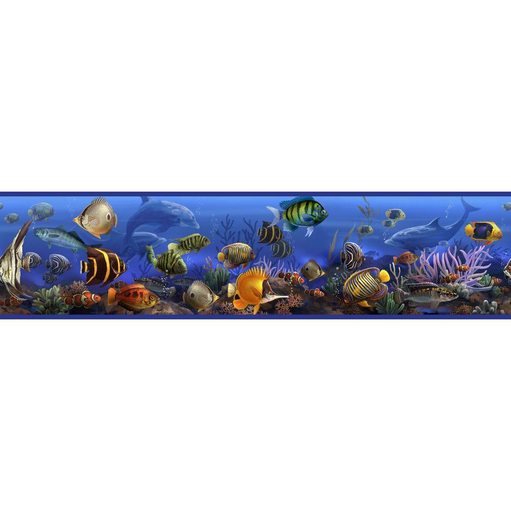 Under the Sea Peel and Stick Wallpaper Border