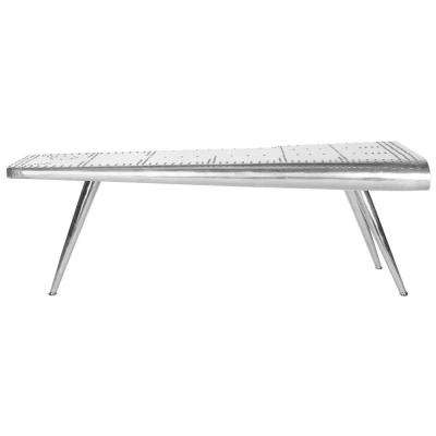 Aviator Silver Coffee Table