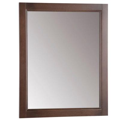 Chelsea 22 in. W x 27 in. H Wall Mirror in Cognac