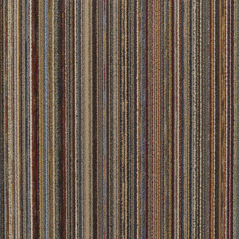 Flux Multi 24 in. x 24 in. Modular Carpet Tile Kit (18 Tiles/Case)