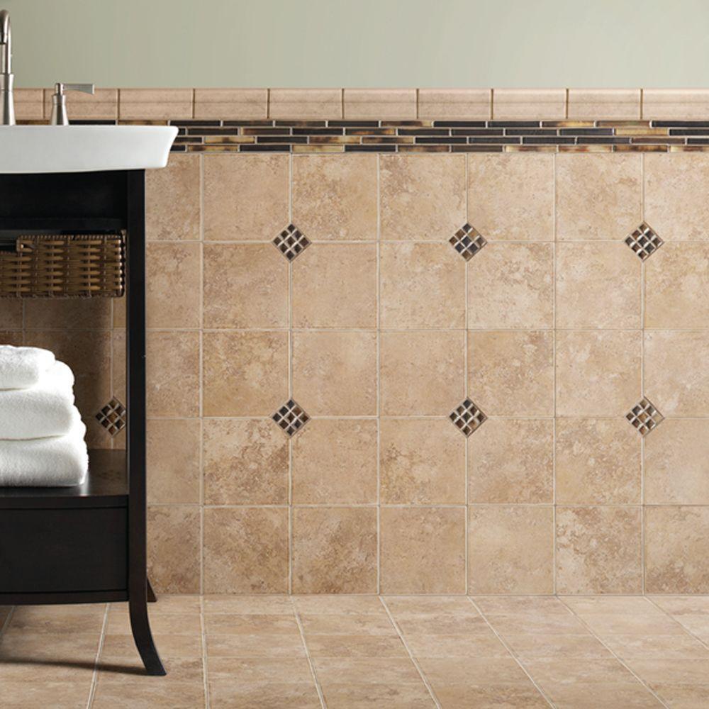 Daltile Santa Barbara Pacific Sand 6 In X 6 In Ceramic Wall Tile