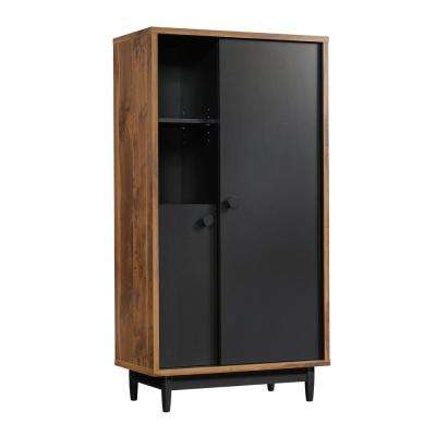 Harvey Park Grand Walnut Storage Cabinet