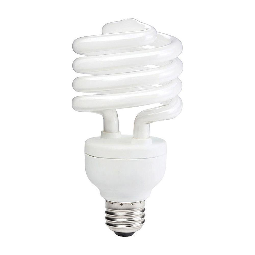 Light Bulb Home Depot: Philips 100W Equivalent Daylight (5000K) T2 Twister CFL