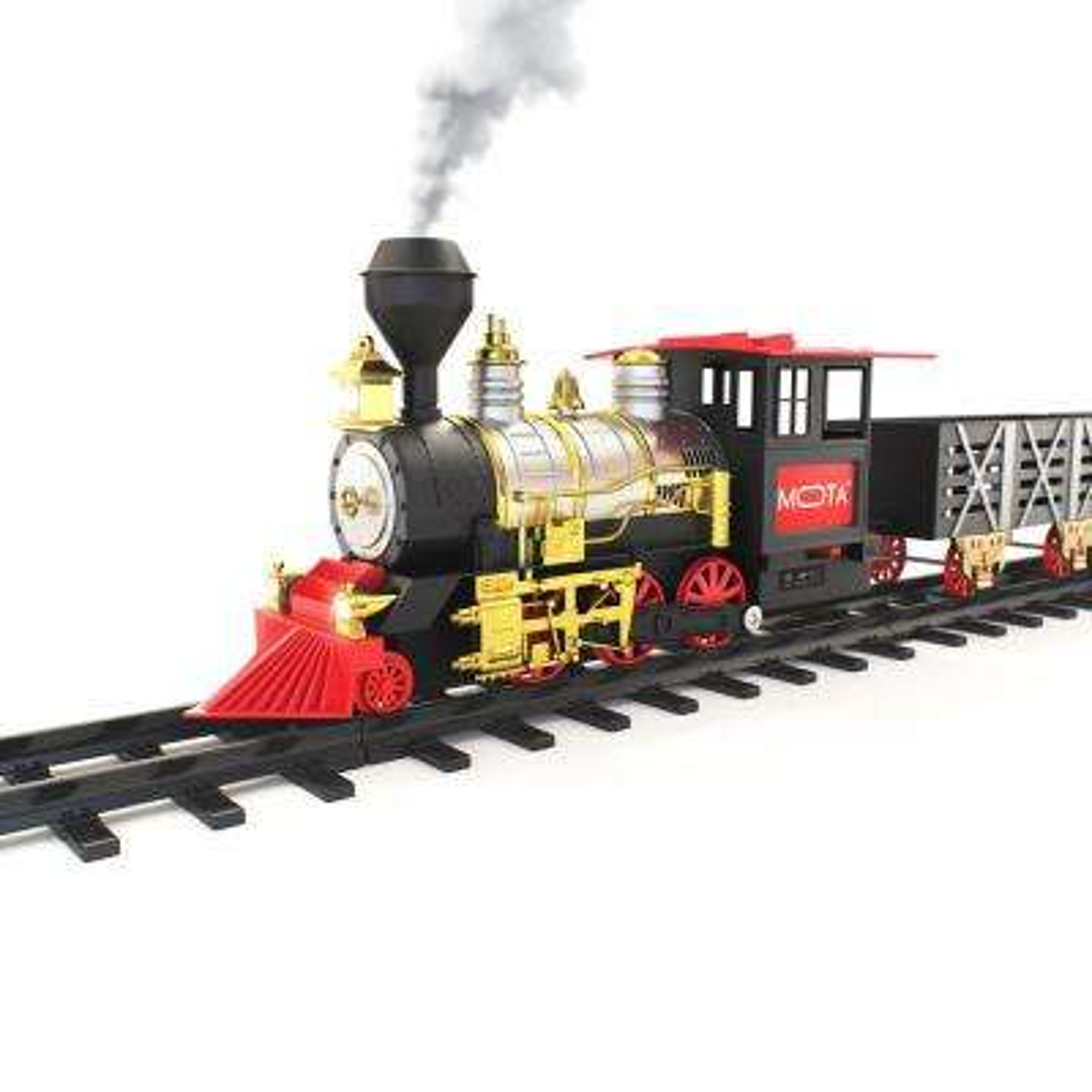 Classic Train Set with Smoke, Sound and Lights