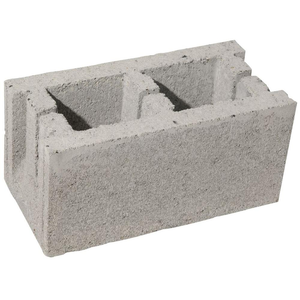 16 in. x 8 in. x 8 in. Concrete Block
