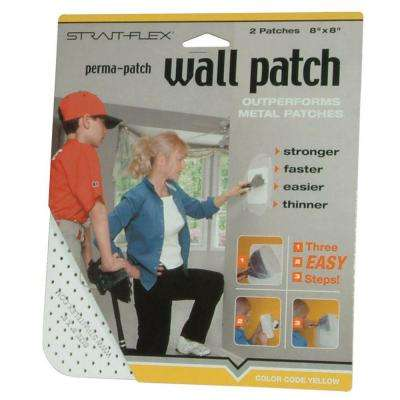 8 in. x 8 in. Large Drywall Perma Patch