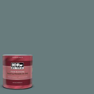 1 qt. #N440-5 Coney Island Matte Interior Paint and Primer in One