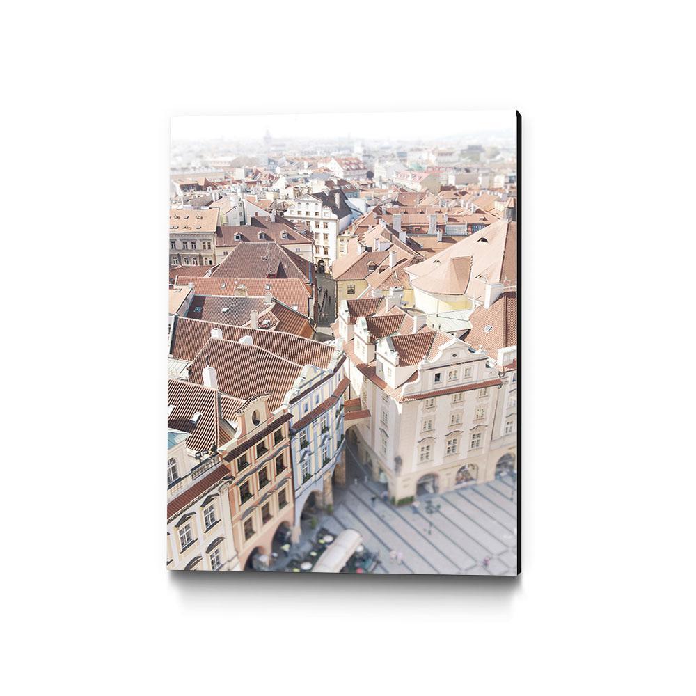 "30 in. x 40 in. ""Prague"" by Georgianna Lane Wall Art"
