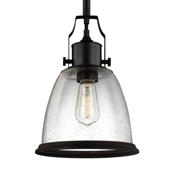 Hobson 1-Light Oil Rubbed Bronze Pendant