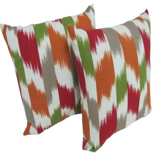Arlington House Cruze Kir Square Outdoor Throw Pillow (2-Pack) by Arlington House