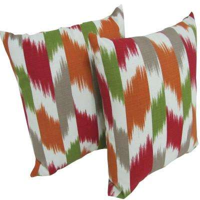 Cruze Kir Square Outdoor Throw Pillow (2-Pack)