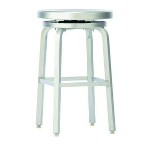 +2. Home Decorators Collection Melanie 24 in. Brushed Aluminum Swivel Bar Stool  sc 1 st  The Home Depot & Home Decorators Collection Melanie 24 in. Brushed Aluminum Swivel ... islam-shia.org
