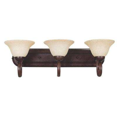 Tutt 3-Light Oil-Rubbed Bronze Bath Vanity Light