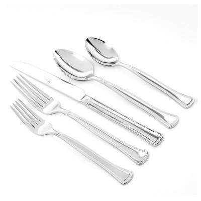 Grand Abby 20-Piece Stainless Steel Flatware Set