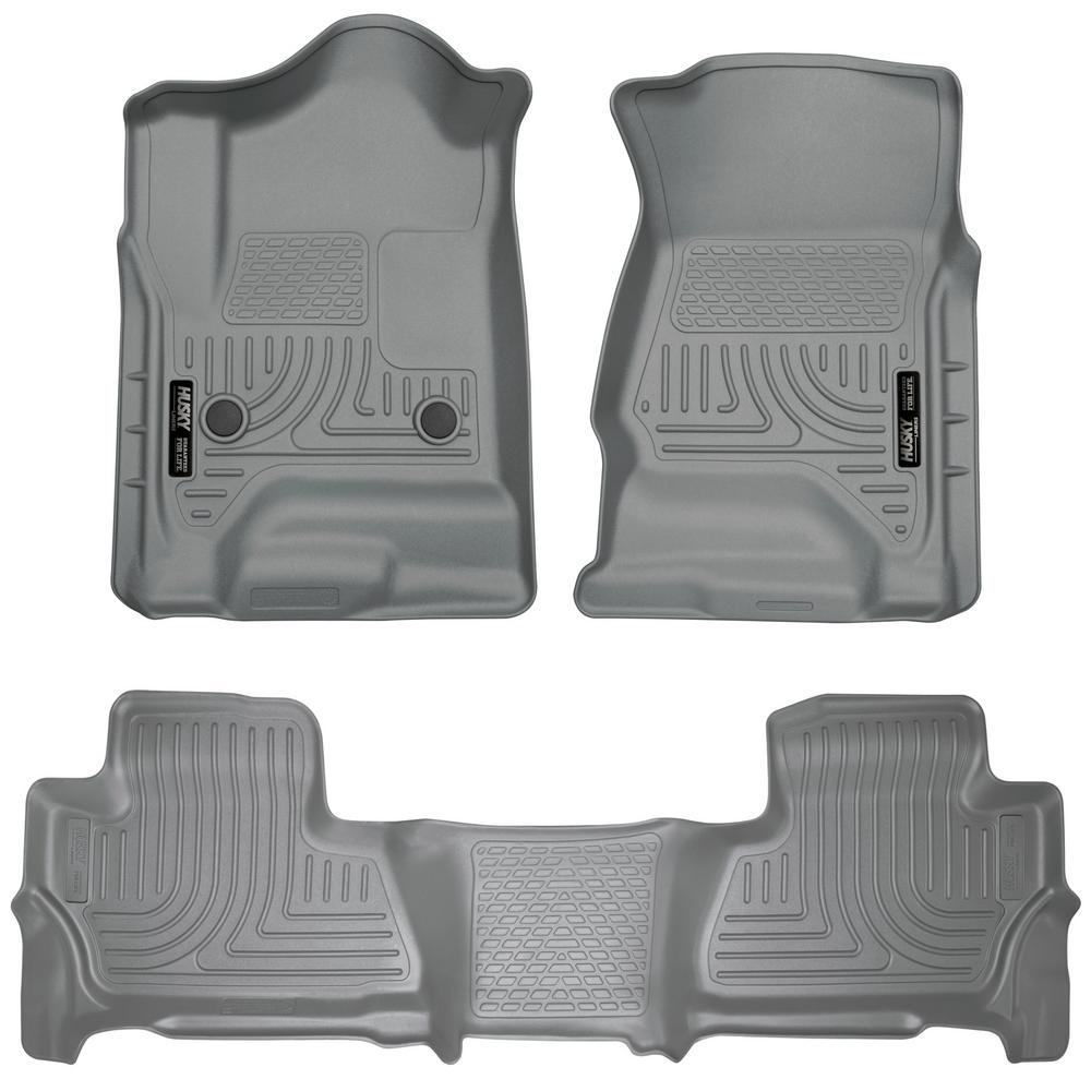 Husky Liners Front 2nd Seat Floor Liners Fits 15 18 Suburban