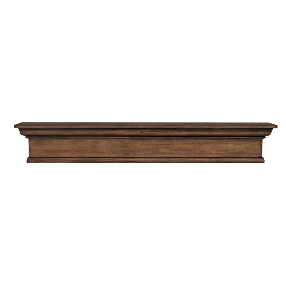 pearl mantels savannah 60 in x 9 in taos cap shelf mantel