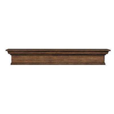 Savannah 60 in. x 9 in. Taos Cap-Shelf Mantel