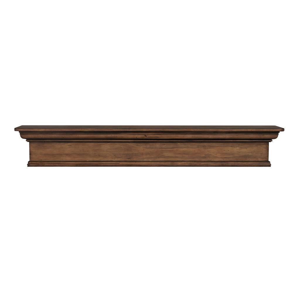 Savannah 72 in. x 9 in. Taos Cap-Shelf Mantel