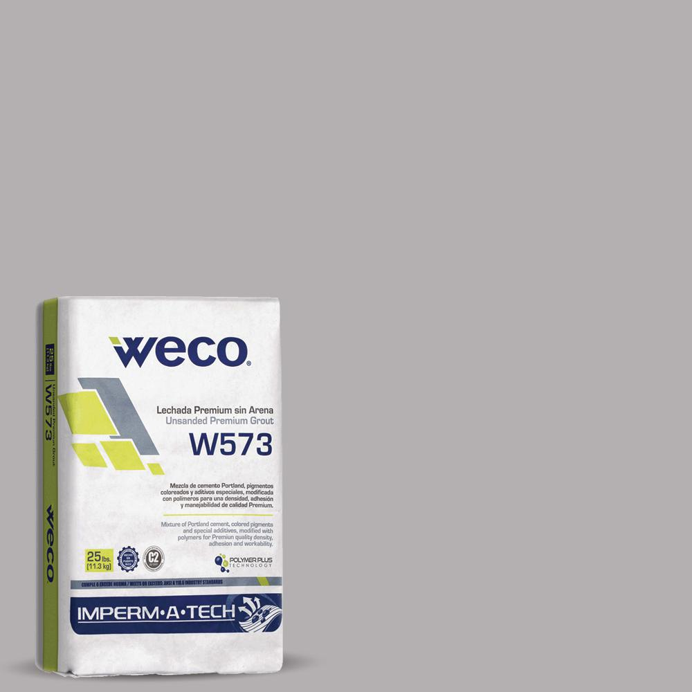 WECO 573 Unsanded Grout Silver Gray