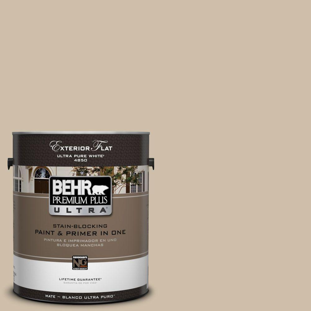 BEHR Premium Plus Ultra 1-gal. #UL170-7 Cabo Flat Exterior Paint