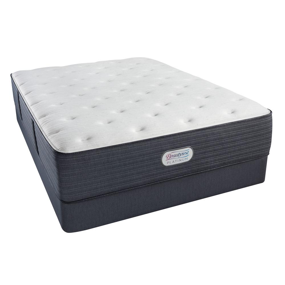 Beautyrest Platinum Jaycrest Plush Twin XL Mattress Set 700800100
