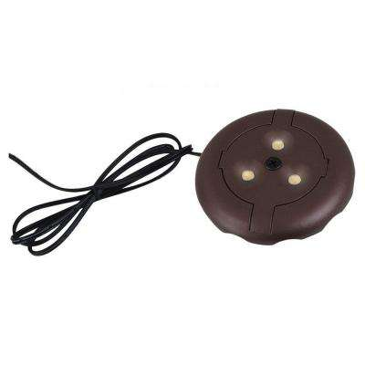 Ambiance 12-Volt Plated Bronze LED Disk Light (2700K)