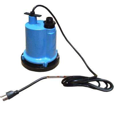 1/4 HP Portable and Submersible Utility Pump