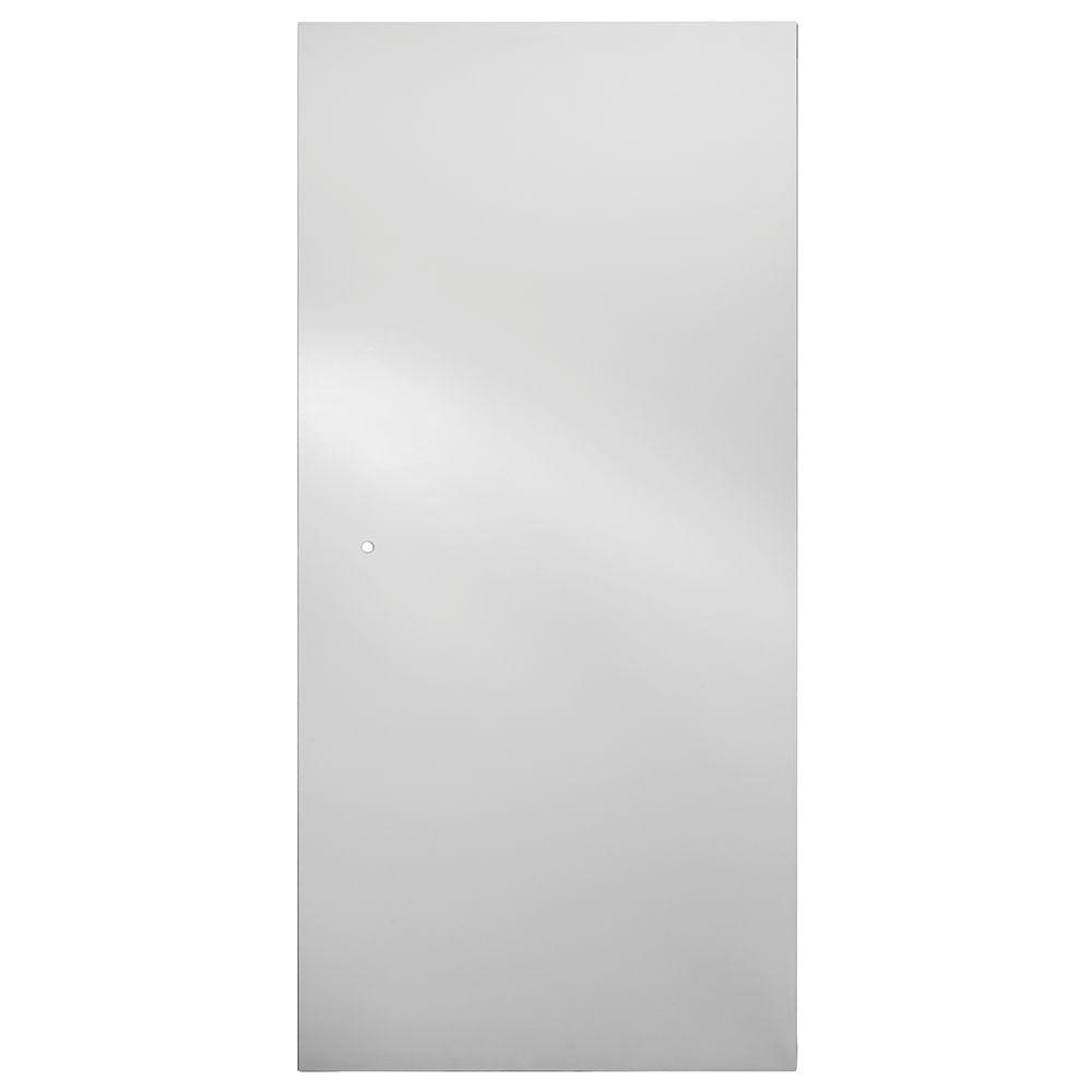 Delta 36 In Semi Frameless Pivot Shower Door Glass Panel