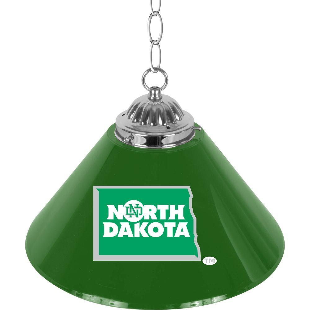 null University of North Dakota 14 in. Single Shade Bar Lamp