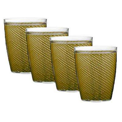 Fishnet 14 oz. Moss Insulated Drinkware (Set of 4)