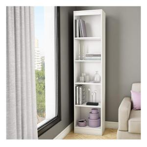 South Shore Axess 5 Shelf Bookcase In Pure White 7250758