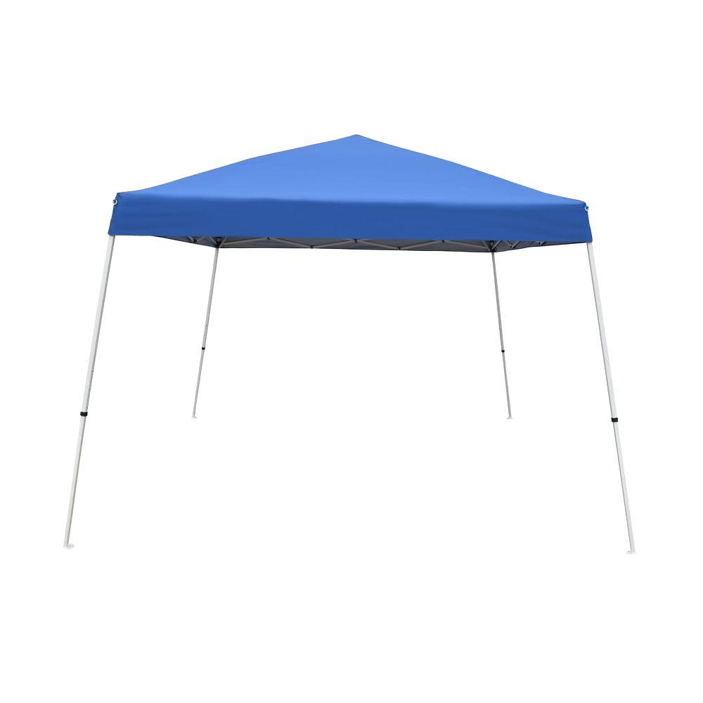 Caravan Sports V-Series 2 12 ft. x 12 ft. Blue Canopy Kit-21207800020 - The Home Depot  sc 1 st  The Home Depot & Caravan Sports V-Series 2 12 ft. x 12 ft. Blue Canopy Kit ...