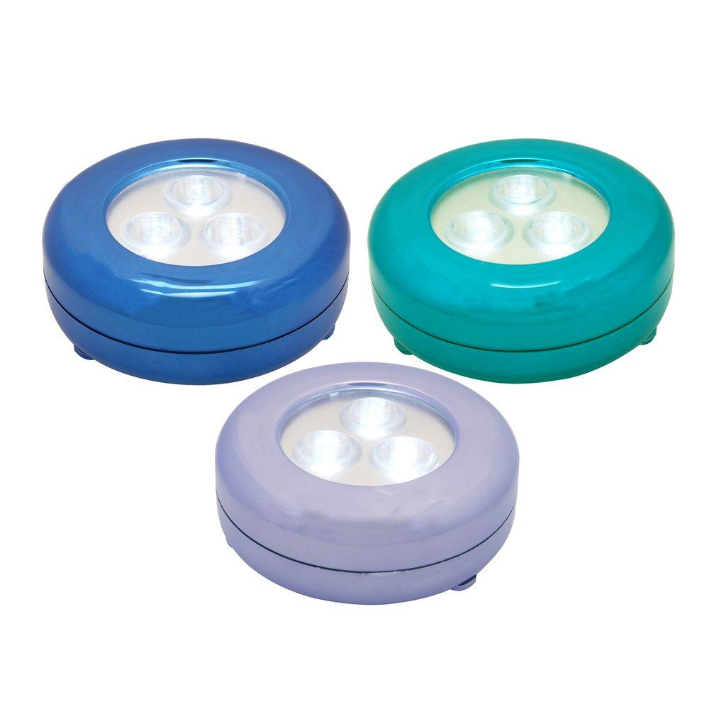 Lite N Up Multi Color LED Night Lights (3-Pack)
