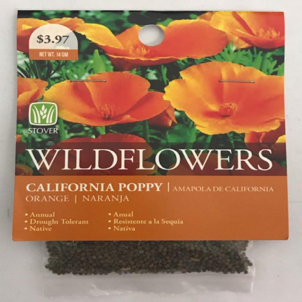 Stover California Poppy Seed 79010 6 The Home Depot