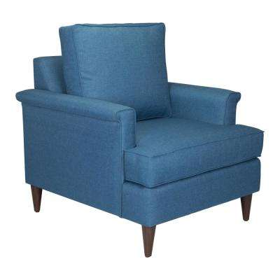 Campbell Blue Arm Chair