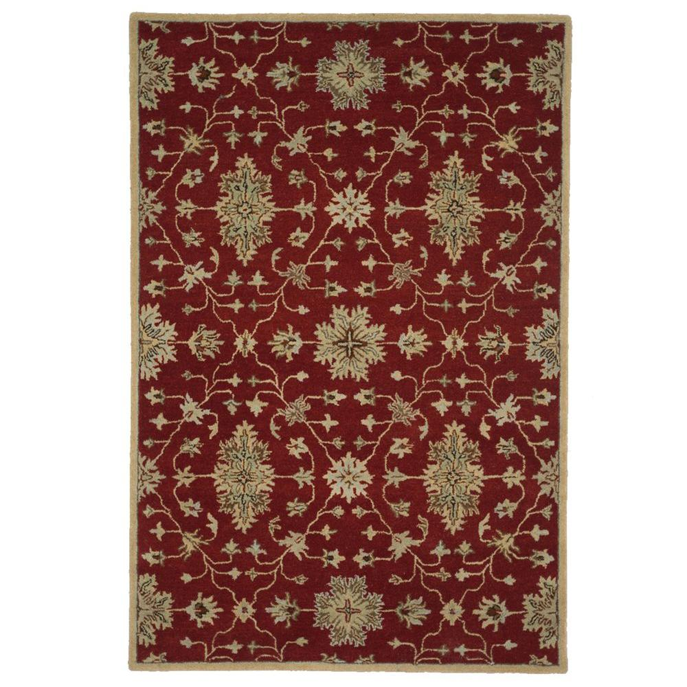 Loloi Rugs Fairfield Lifestyle Collection Red/Multi 5 ft. x 7 ft. 6 in. Area Rug