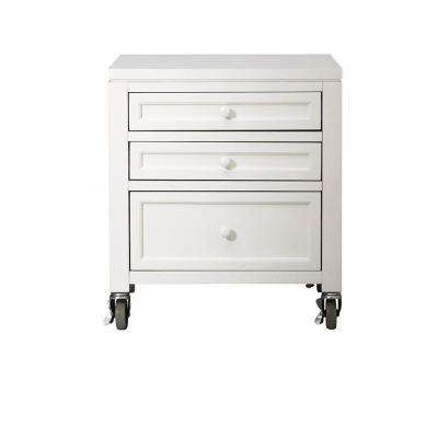 Craft Space 21 in. W Picket Fence 3-Drawer Cart