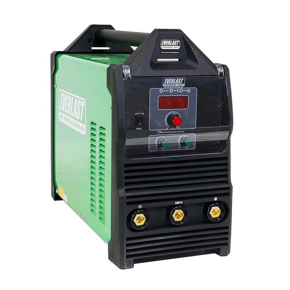 300 Amp PowerARC 300 IGBT Inverter DC Stick/TIG Welder with Lift TIG Start, 240V