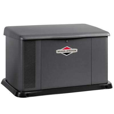17,000-Watt Air Cooled Home Standby Generator with 100 Amp 16-Circuit Switch