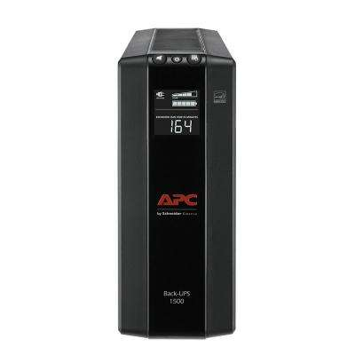 10-Outlet Back-UPS Pro Compact Tower 1500VA AVR LCD