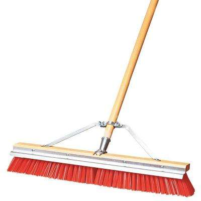 24 in. Polypropylene Heavy Sweep Scraperbroom (3-Pack)