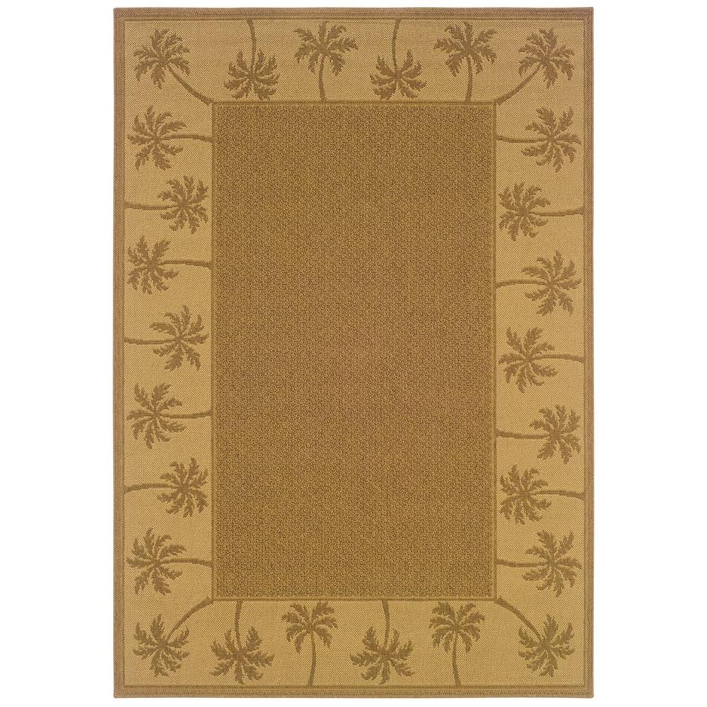 Nevis Passage Dark Beige 2 ft. 5 in. x 4 ft.