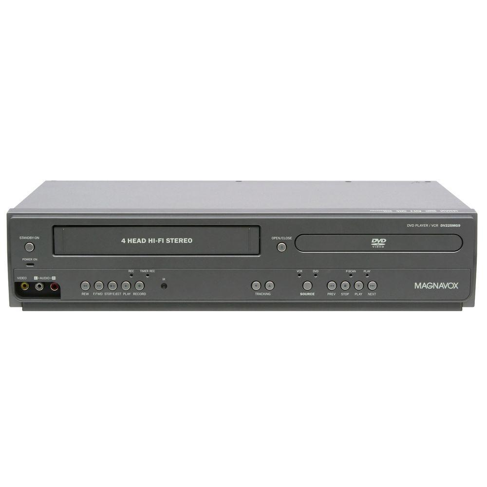 Magnavox Dual DVD/VHS Player-DISCONTINUED