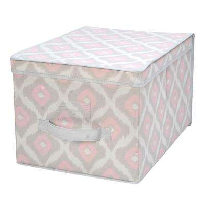12 in. x 16 in. x 10 in. Large Storage Box in Ikat