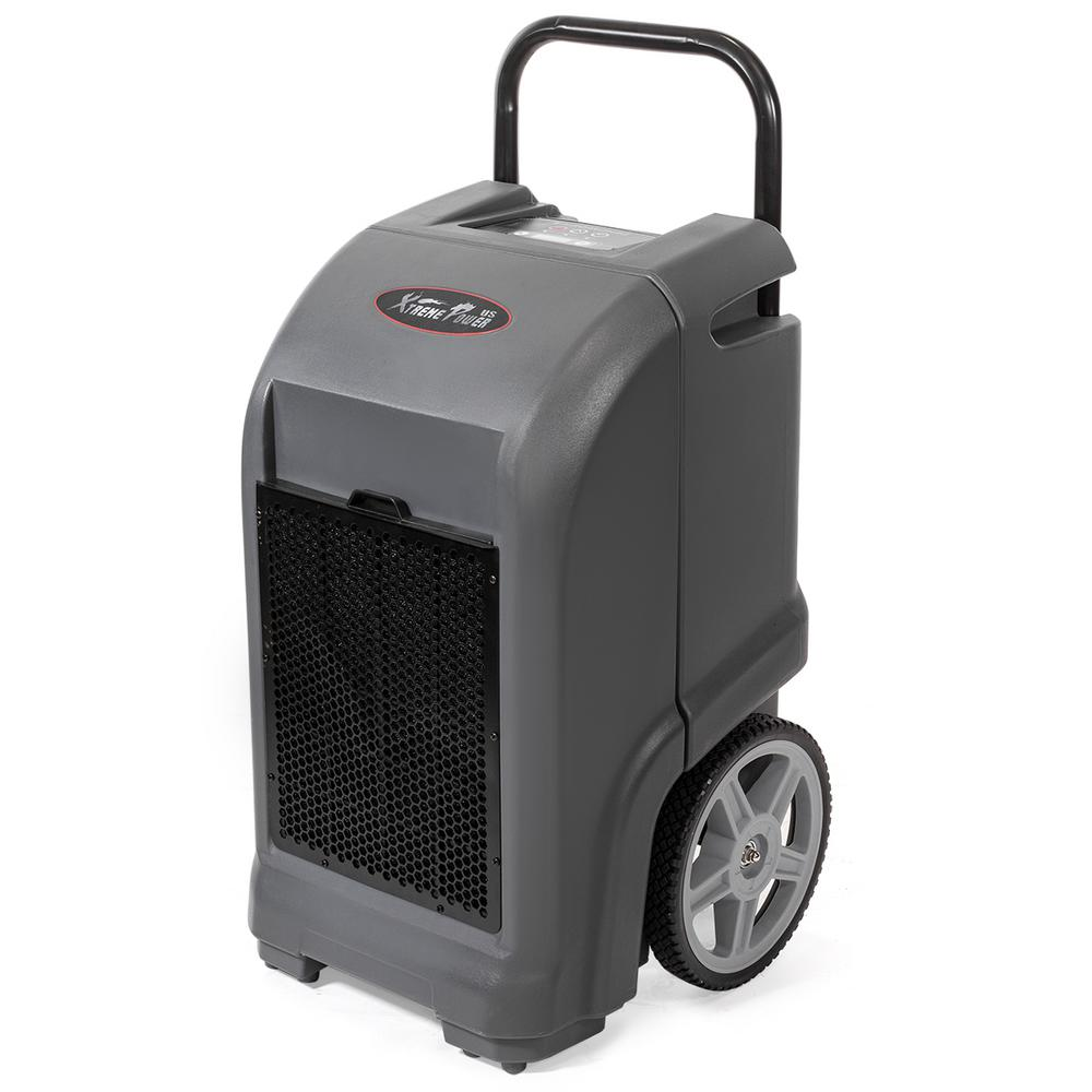 Xtremepowerus 125 Pint Commercial Dehumidifier With Auto